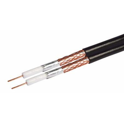 Shotgun Coaxial Cable Black 100m Drum