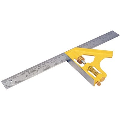 Stanley 300mm Die Cast Combination Square