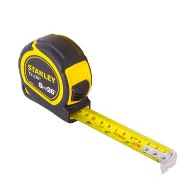 Stanley Short Tape Bi-Material 8m 26ft