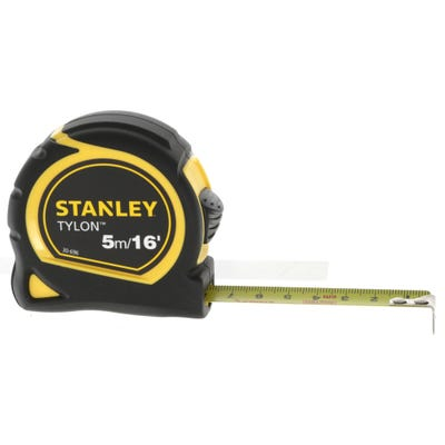 Stanley Tylon Pocket Tape Measure 5m 16ft