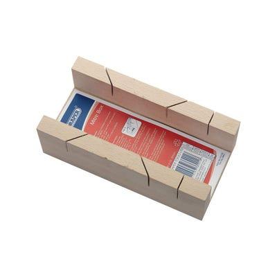 Draper 230mm Beechwood Mitre Box 45238