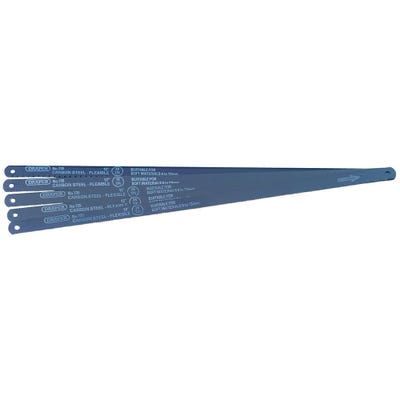 Draper Hacksaw Blades Carbon 5mm x 300mm