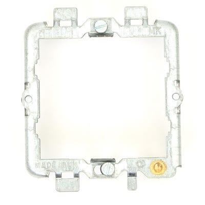 MK Grid Plus 2 Gang Mounting Frame K3702