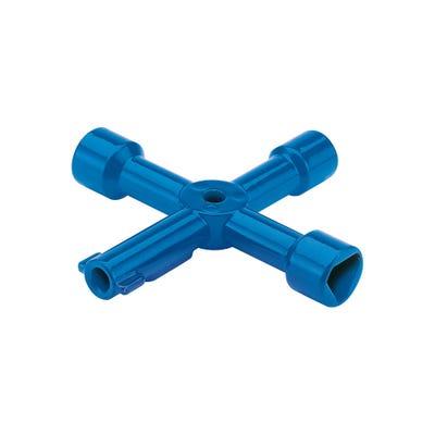 Draper 4 Way Plumbing Utility Key 65393