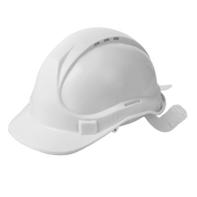 Blackrock Safety Helmet White With 6 Point Harness