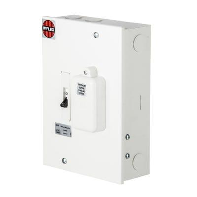 Wylex Main Switch Fuse 60A 1 Way Modular 160cm (3rd Amend Complaint)