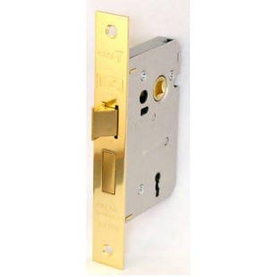 Eurospec Contract Sashlock 3 Lever 63mm Electro Brass
