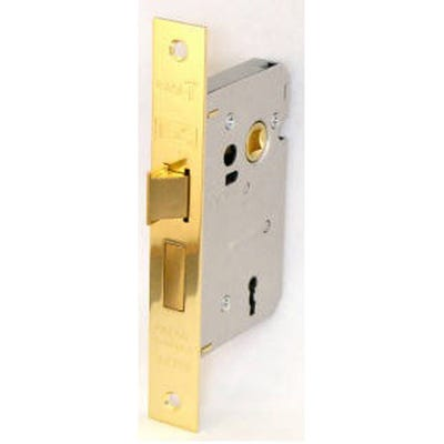Eurospec Contract Sashlock 3 Lever 63mm Electro Brass
