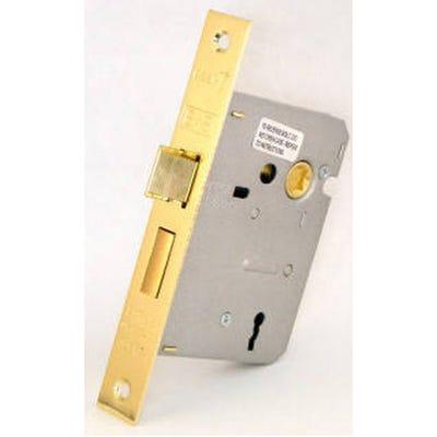 Eurospec Contract Sashlock 3 Lever 76mm Electro Brass