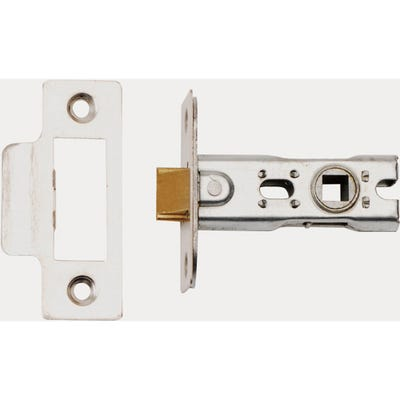 Dale 63mm Tubular Mortice Latch Satin Stainless Steel