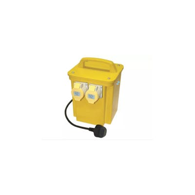 Faithfull 3.3kVA Twin Outlet Transformer