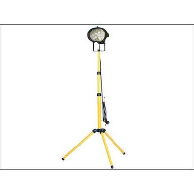 Faithfull 230V Site Light Single Adjustable Stand 500W