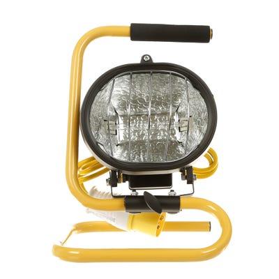 Faithfull 110V Portable Site Light 500W