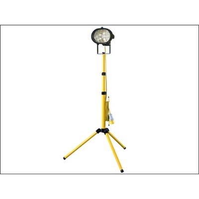 Faithfull 110V Site Light Single Adjustable Stand 500W