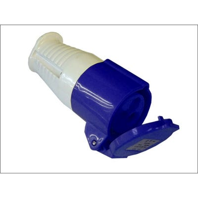 Faithfull 240V 16A Blue Socket