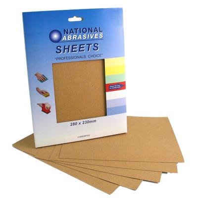 Sandpaper Sheets Pack of 5