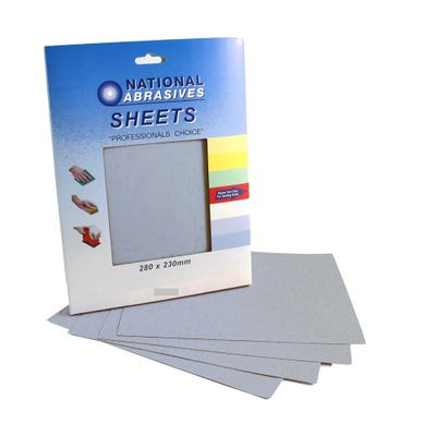 Finishing Sanding Sheets Assorted Pack of 4