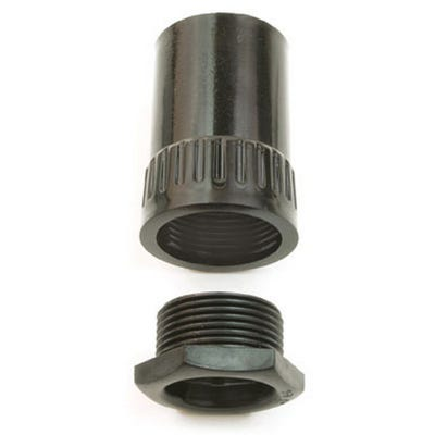Conduit Adaptor Female Black 25mm