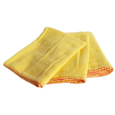 Yellow Dusters Pack of 10