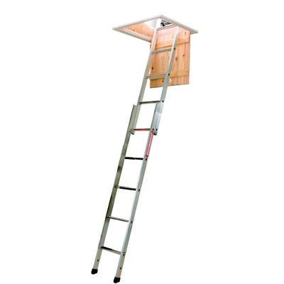 Youngman Spacemaker 2 Section Aluminium Loft Ladder