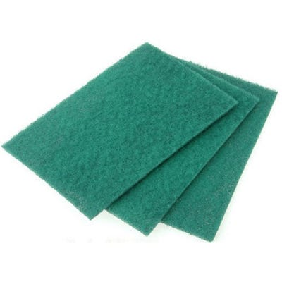 Flat Scourers Pack of 10