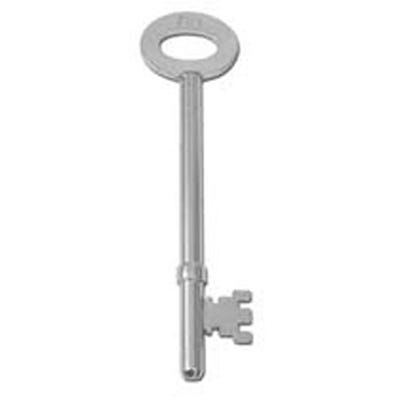 Pre cut key for use with FB1 Fire Brigade Mortice locks