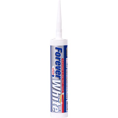 Everbuild Forever White Sealant 295ml