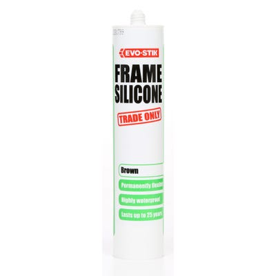 Evo-Stik Frame Silicone Sealant 310ml