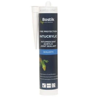 Bostik Intucrylic Intumescent Acrylic Sealant White 310ml