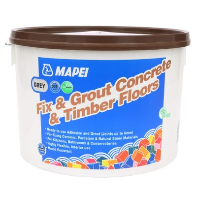 Mapei Grey Fix & Grout Concrete & Timber Floors 15Kg