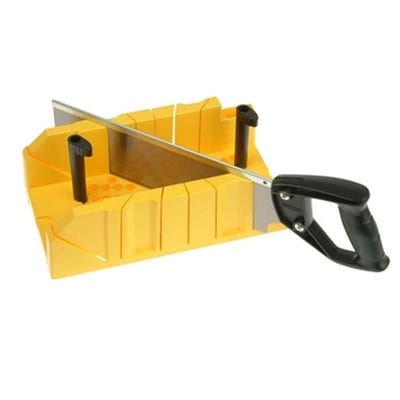 Stanley Clamping Mitre Box & Saw