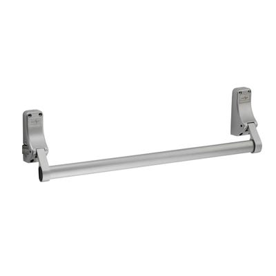 Push Bar Latched With Dogging Function Silver