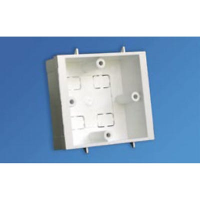 Dado/Skirting Trunking 1 Gang Outlet Box