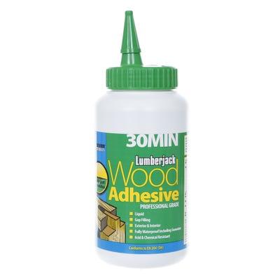 Lumberjack 30 Minute Polyurethane Wood Adhesive Liquid 750g