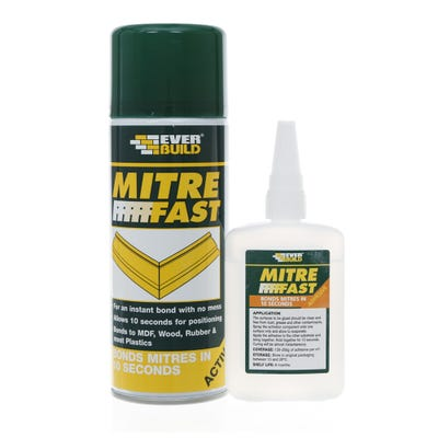 Everbuild Mitre Fast Bonding Kit Jumbo