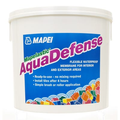 Mapei Mapelastic Aquadefense Liquid Rubber Waterproofer 15Kg