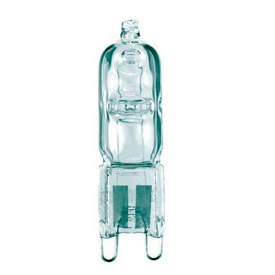 Clear 18W Energy Saving Halogen Capsule Bulb G9