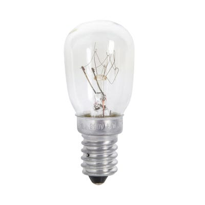 Clear 15W Small Sign Bulb SES/E14