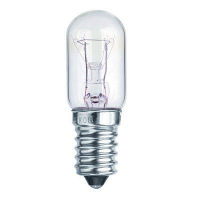 Clear 15W Appliance Fridge & Microwave Bulb SES/E14