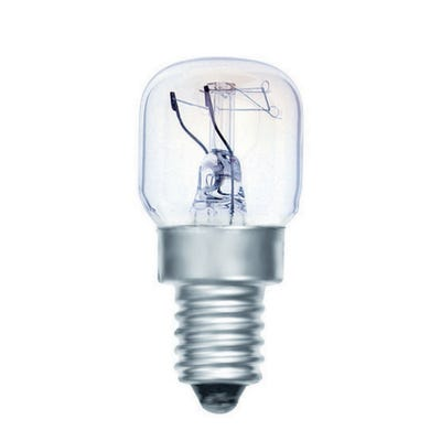 Clear 25W Oven Bulb SES/E14