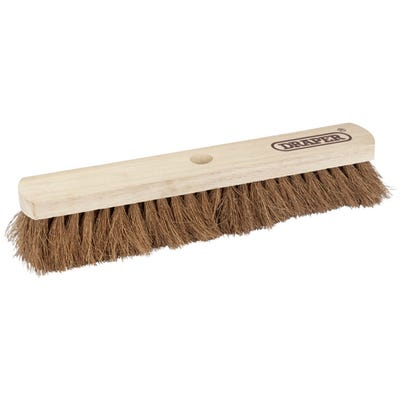 Draper Soft Coco Broom Head 450mm (18'') 43771