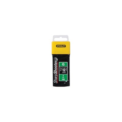 Stanley 12mm Heavy-Duty Staples Pack Of 5000 STA1TRA7085T