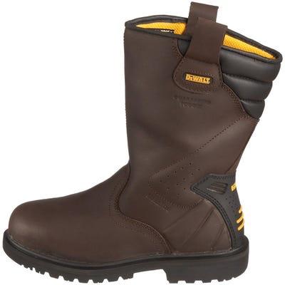 DeWalt Rigger Boots Brown Size 6