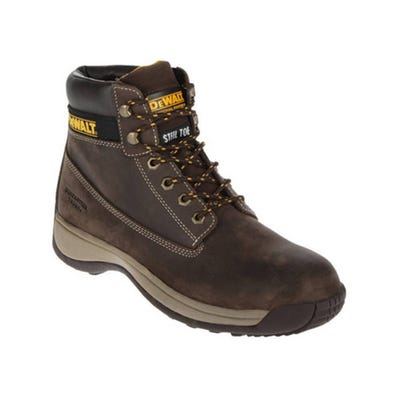 DeWalt Apprentice Nubuck Boots Brown Size 12