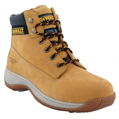 DeWalt Apprentice Nubuck Boots Wheat Size 5