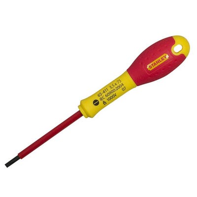 Stanley Fatmax Screwdriver Insulated Parallel 4mm x 100mm