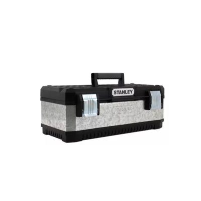 Stanley 20'' Galvanised Metal Toolbox 1-95-618