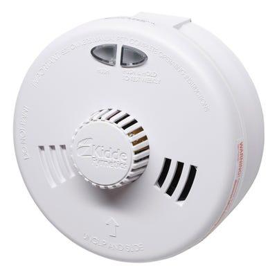 Kidde Slick Fast Fit Mains Heat Alarm With Alkaline Battery 3SFW