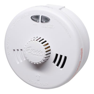 Kidde Slick Fast Fit Mains Heat Alarm With Sealed Rechargeable Lithium Battery 3SFWR