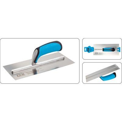 OX 114mm x 280mm Stainless Steel Plasterers Trowel